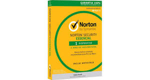 ANTIVIRUS NORTON SECURITY ESSENCIAL 30BR 1 USER 1 DEVICE 1 ANO CARD