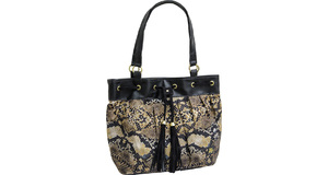 BOLSA TN 1055 PITON MARRON NOTE 14.1