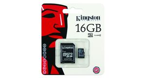 MEMORY CARD MICRO SD 16GB KINGSTON CLASSE 10
