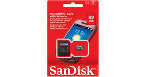 MEMORY CARD MICRO SD 32GB SANDISK