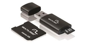 MEMORY MICRO SD 16GB MULTILASER MC112(KIT 3X1 16GB - MC112 )