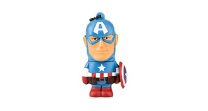 PEN DRIVE 8GB MARVEL CAPITAO AMERICA PD080
