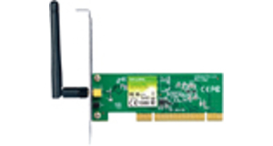 PLACA DE REDE WIRELESS TP-LINK TL-WN751ND PCI 150MBPS