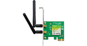 PLACA DE REDE WIRELESS TP-LINK TL-WN881ND 300  LOW PROFILE PCI-EXPRESS 2 ANTENAS