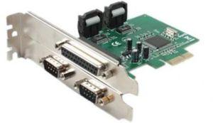PLACA PCI EXPRESS X1 MULTI SERIAL 2 SERIAL 1 PARALELA