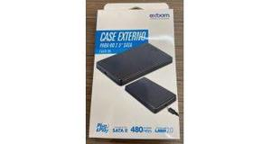 GAVETA HD NOTEBOOK EXBOM 2.5 SATAII USB 2.0 CGHD-20