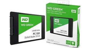 HD SSD SATA 120GB WESTERN DIGITAL