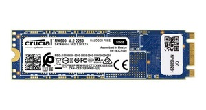 HD SSD M.2 500GB CRUCIAL MX500