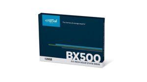 HD SSD SATA 120GB CRUCIAL BX500
