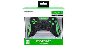 JOYPAD MULTILASER WARRIOR PC/PS2/PS3 JS081