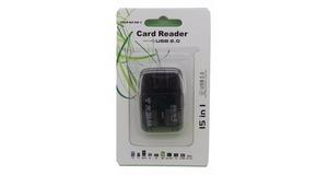 LEITOR DE CARTAO USB 2.0 CARD READER SM-6/SM-3