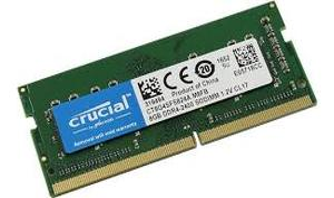 MEMORIA NB DDR4 8GB PC2400 CRUCIAL