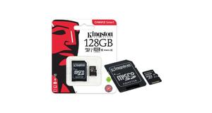 MEMORY CARD MICRO SD 128GB KINGSTON CLASSE 10