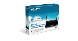 MODEM ROTEADOR WIRELESS TP-LINK D5 AC1200 ARCHER DUAL BAND GIGABIT 2 ANTENAS