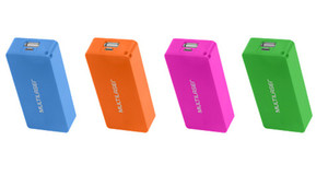 POWERT BANK MULTILASER CB097 4.000MAH